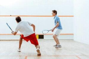 sporty rakietowe squash