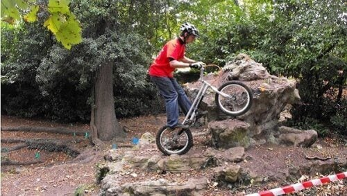 Trial rowerowy