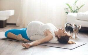 ćwiczenia pilates w ciąży