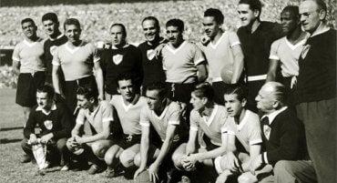 Maracanazo - drużyna Urugwaju