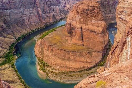 Rzeka do raftingu Kolorado