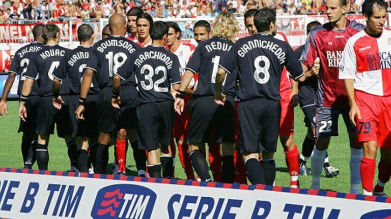 Drużyny zamieszane w aferę Calciopoli