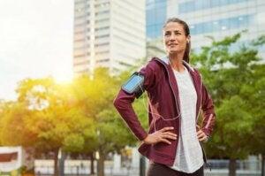 bieganie na świeżym powietrzu poprawia nastrój