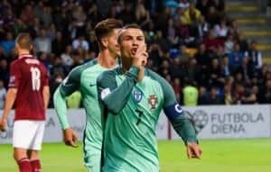 Ronaldo na boisku