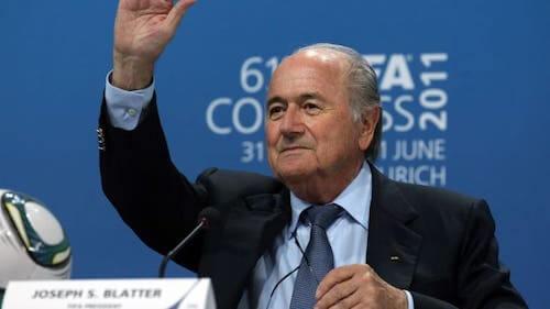 Joseph Blatter, szef FIFA