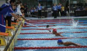 pływanie dla niewidomych