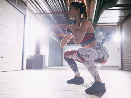 Przysiady goblet – Jakie mięśnie pracują podczas tego ćwiczenia?