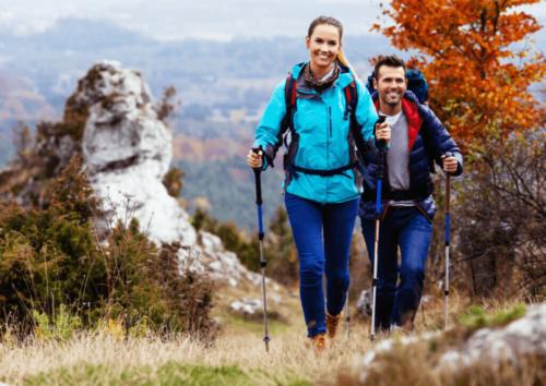 4 korzyści pieszych wędrówek – same atuty