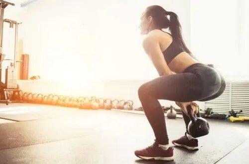 Trening z kettlebells dla całego ciała