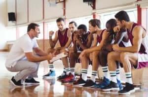 Drużyna z trenerem