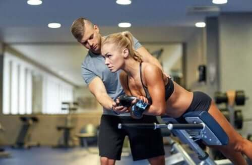 trening z trenerem