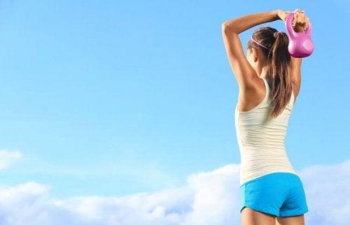 Sete opções de exercícios para braços definidos