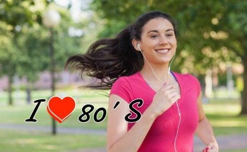As melhores músicas para correr: uma playlist dos anos 80