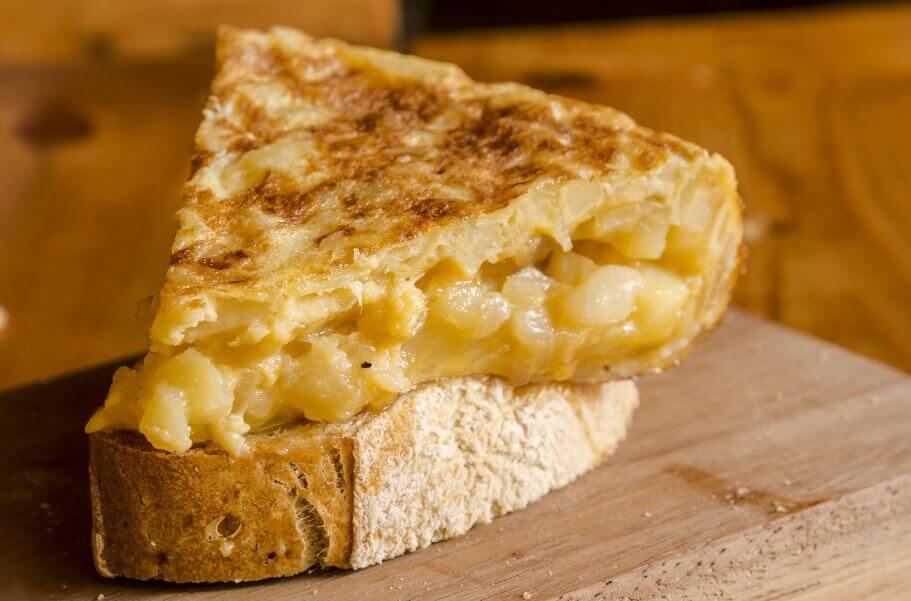 Tortilha com pão