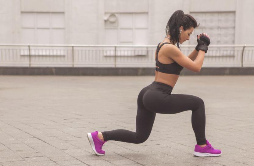 Exercícios para iniciantes: afundos