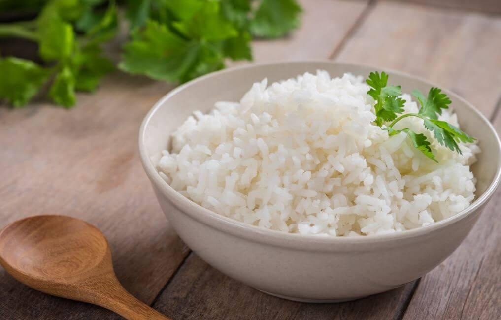 Uma tigela de arroz