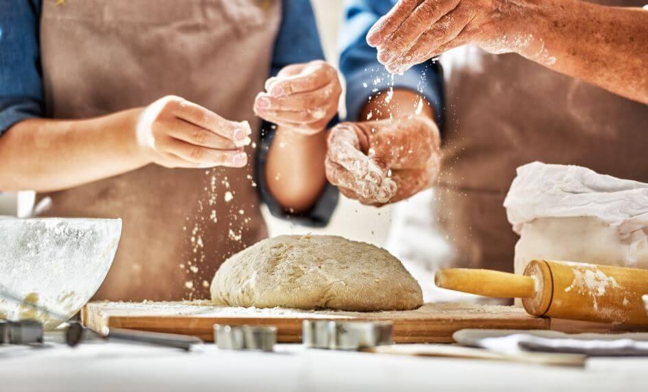 Receitas de pão: branco, integral e de forma