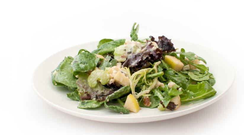 Salada Waldorf com iogurte