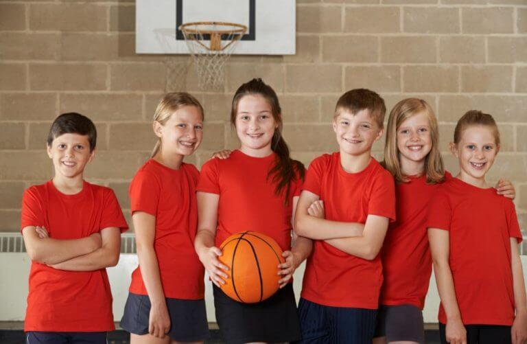 basquete desenvolvimento das crianças