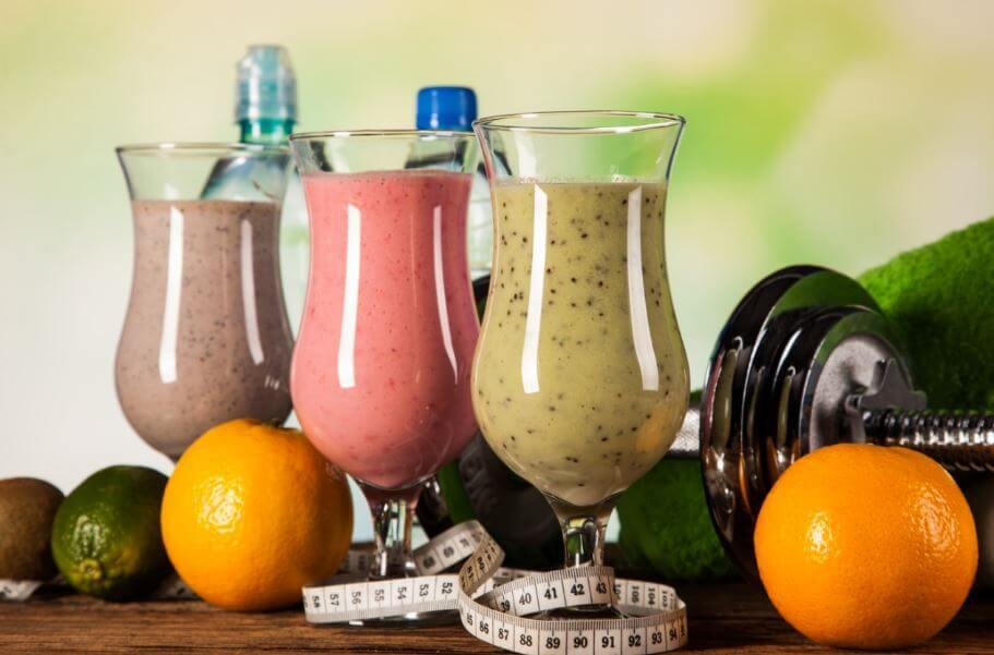 9 ideias de shakes para aumentar os músculos