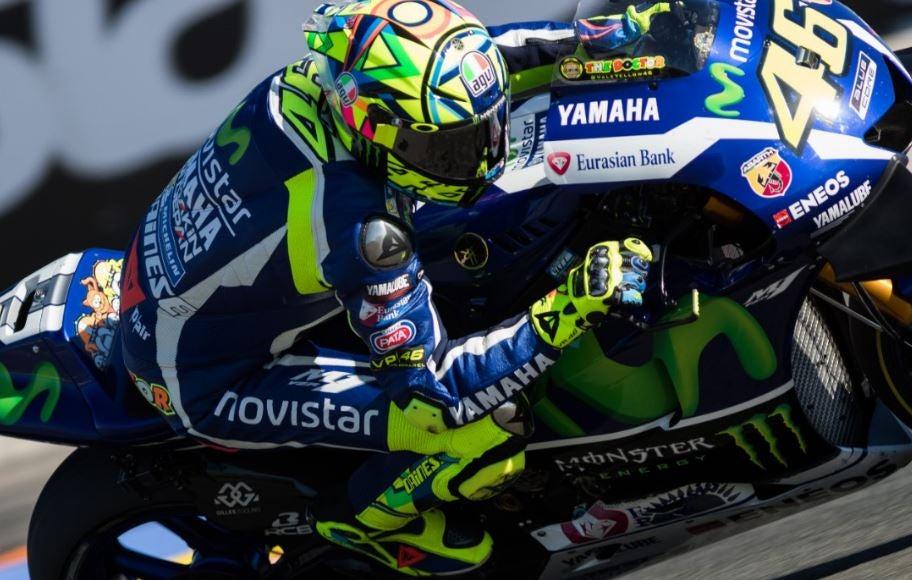Piloto de motociclismo da Yamaha