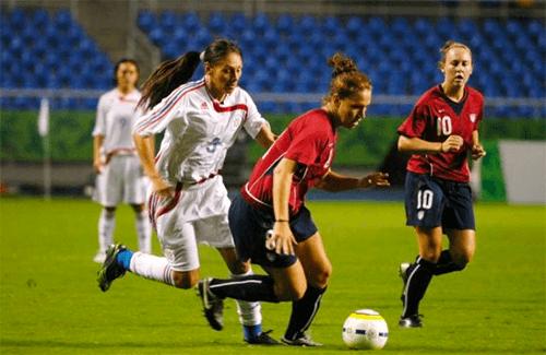 Dicas de nutrição no futebol feminino