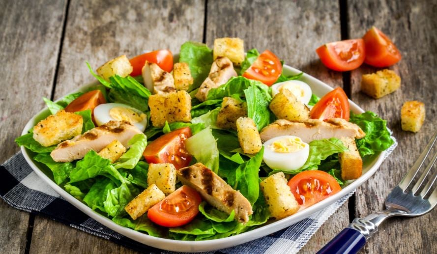 Salada caribenha, outra das nossas saladas originais