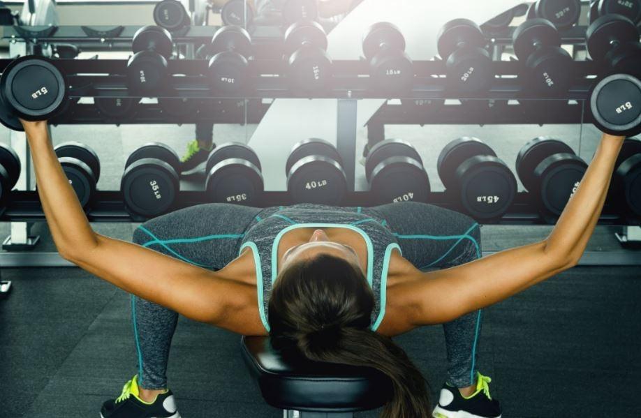 exercícios para tonificar o peito