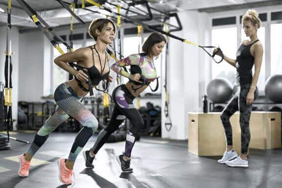 Benefícios do treinamento suspenso