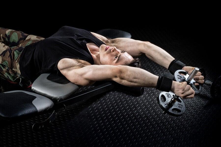 exercícios de peso excêntricos