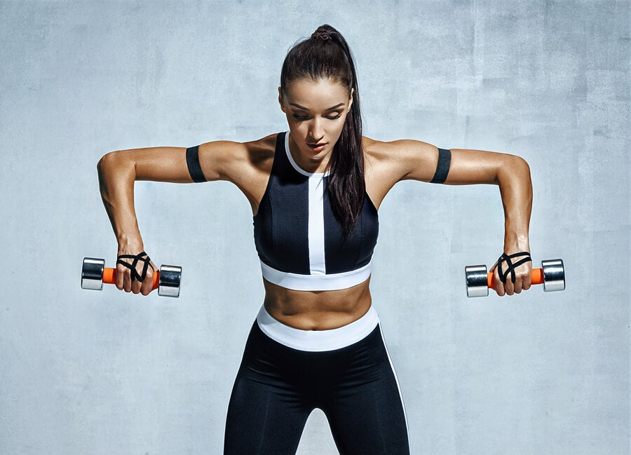Treino de ombros para aumentar a massa muscular