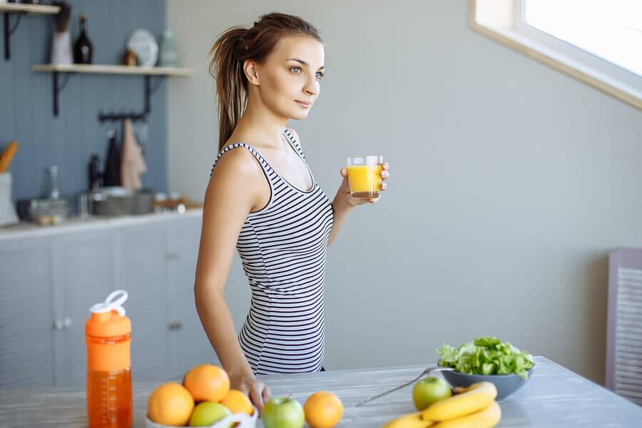 2 vitaminas caseiras para o pós-treino