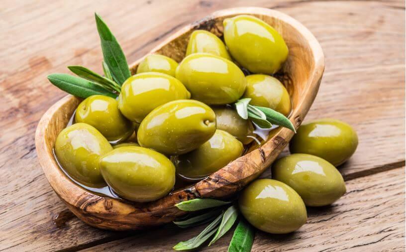 Valor nutricional das azeitonas