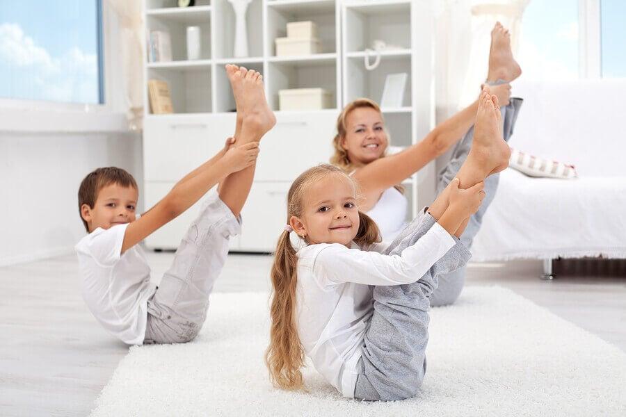 Cada sessão de yoga para crianças pode durar entre 45 e 90 minutos