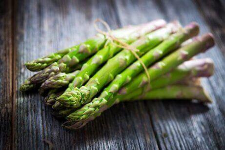 Propriedades nutricionais dos aspargos