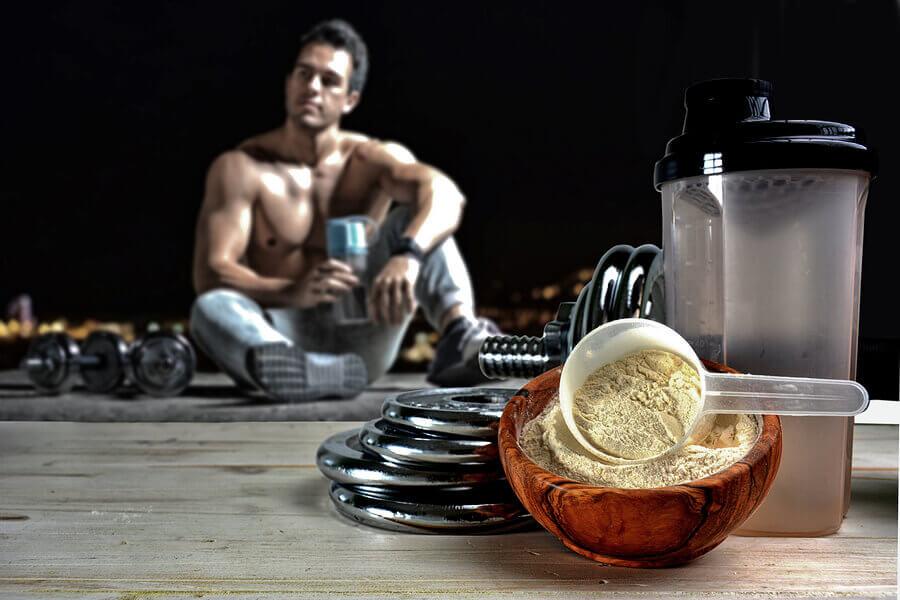 Shakes de proteína com maltodextrina