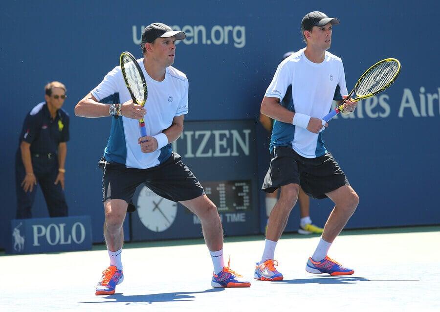 Os 5 melhores duplas de tênis do ATP
