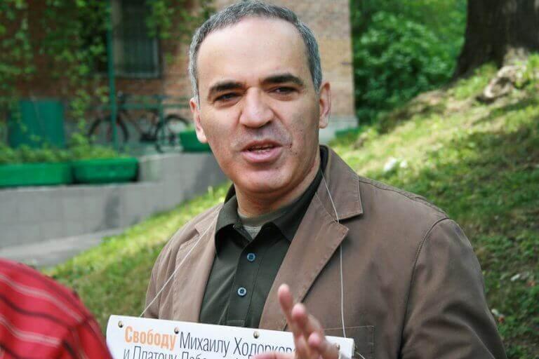 Garri Kasparov é um dos atletas russos