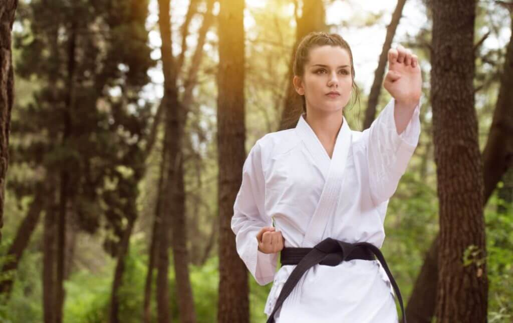 algumas artes marciais japonesas