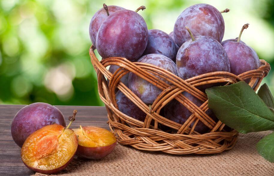 cobre nas frutas