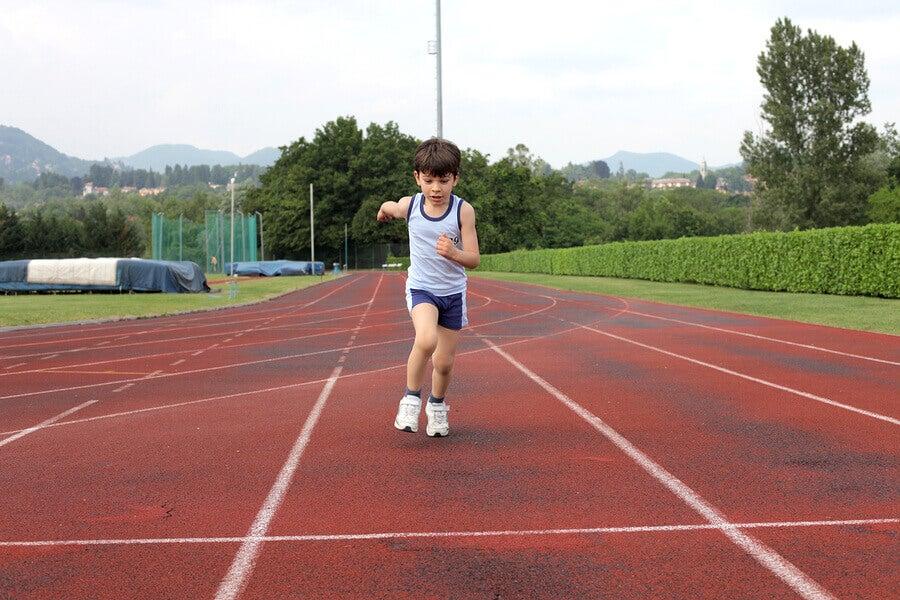 Quando as crianças podem começar a correr?