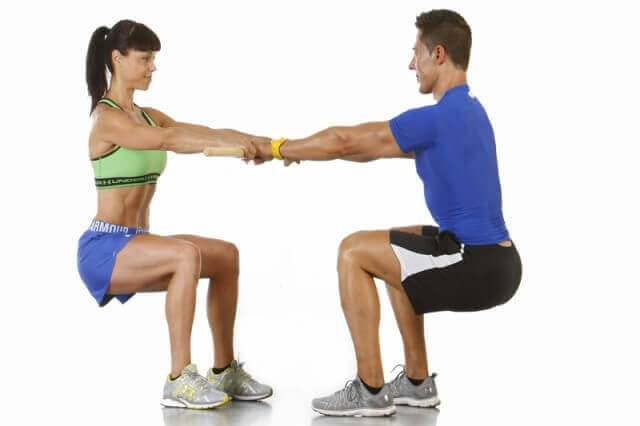Opções de exercícios a dois