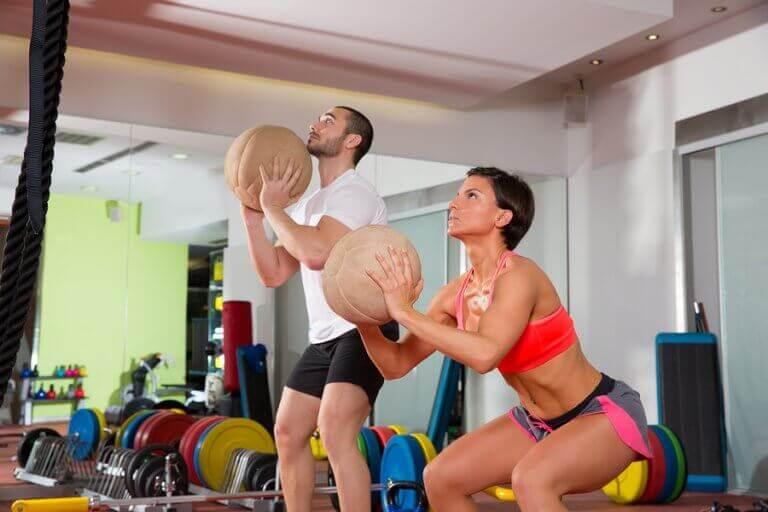 Exercício de CrossFit