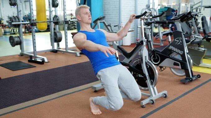 exercício de isolamento do quadríceps