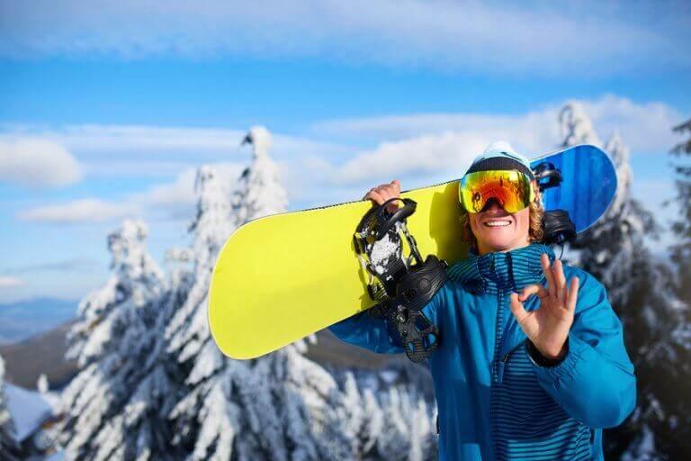 O frio do inverno não deve ser um obstáculo para a prática esportiva