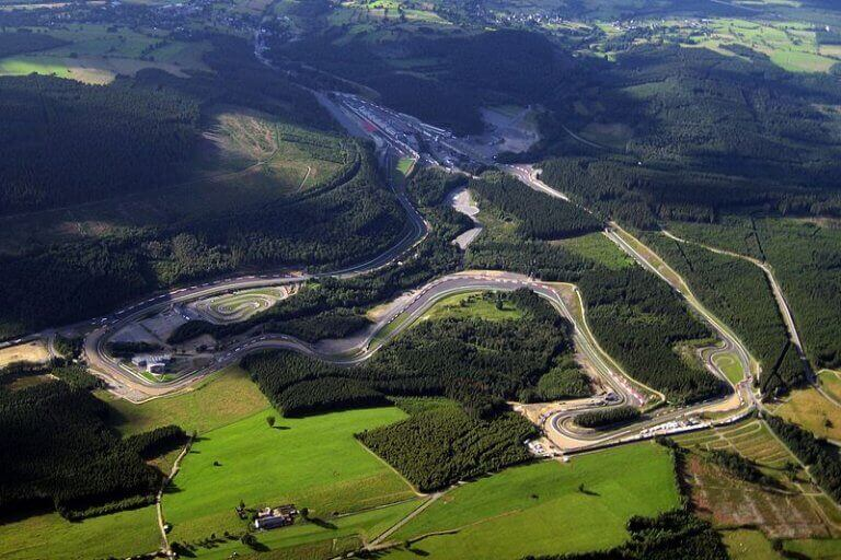Os melhores circuitos de F1 do mundo