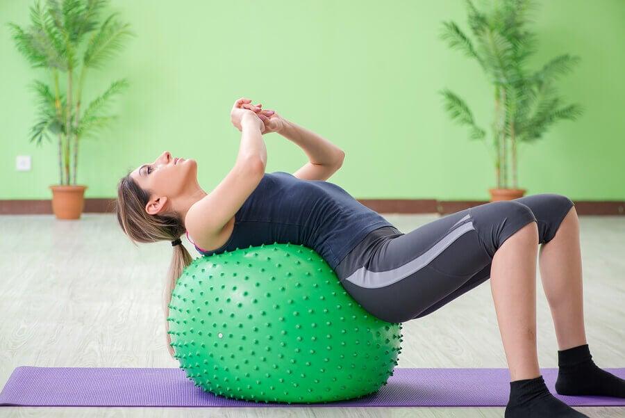 Benefícios do treino com fitball