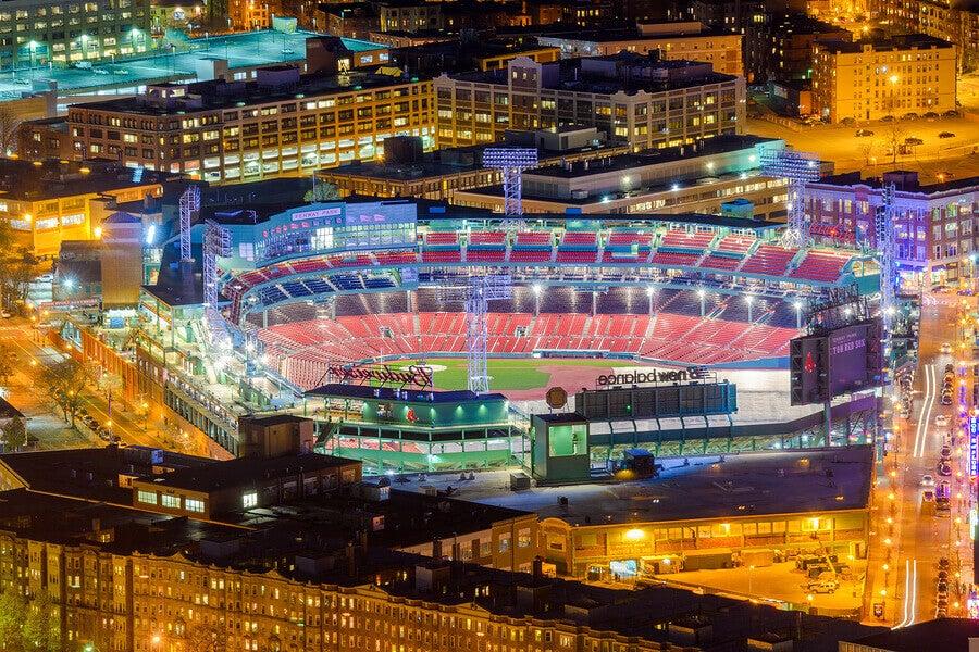 Estádio em Boston
