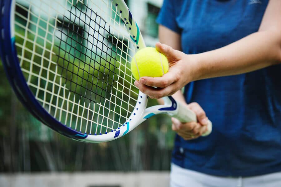 chaves para começar a praticar tênis