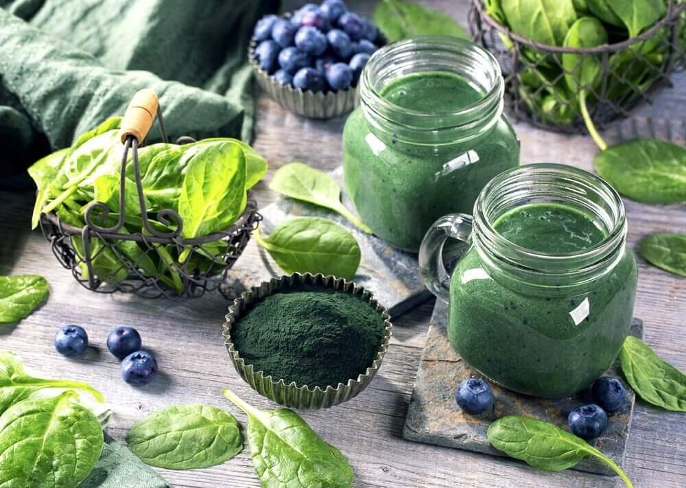 Composição nutricional da spirulina